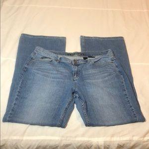 DKNY Soho Jeans Size 16 Long